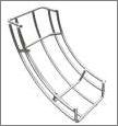 Eletrocalha aramada valemam perfis metalicos for Curva vertical exterior 90